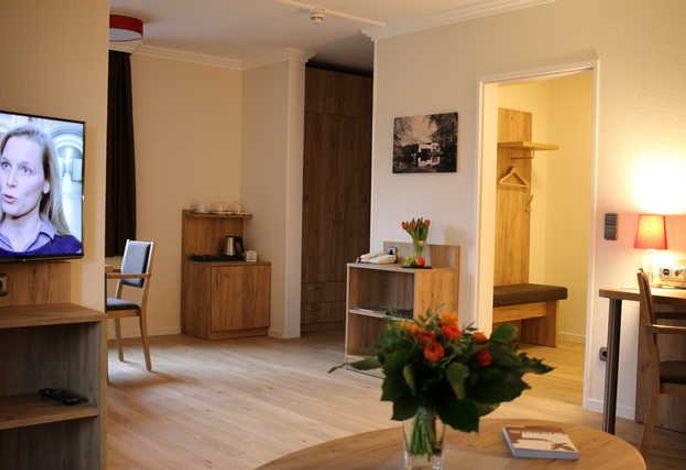 Hotel Sonnenhügel -  Komfort Suite 50 qm mit Südbalkon