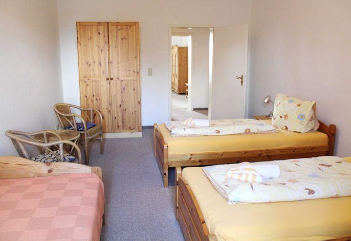 2-Bett-Zimmer mit Aufbettung