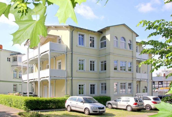 Die Villa Strandmuschel - strandnahe FeWos in Göhren