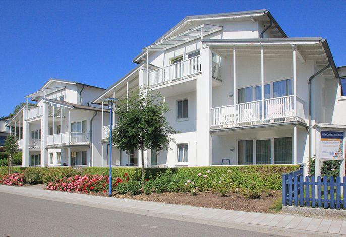 Die Villa Karola - ruhige Lage mitten in Göhren
