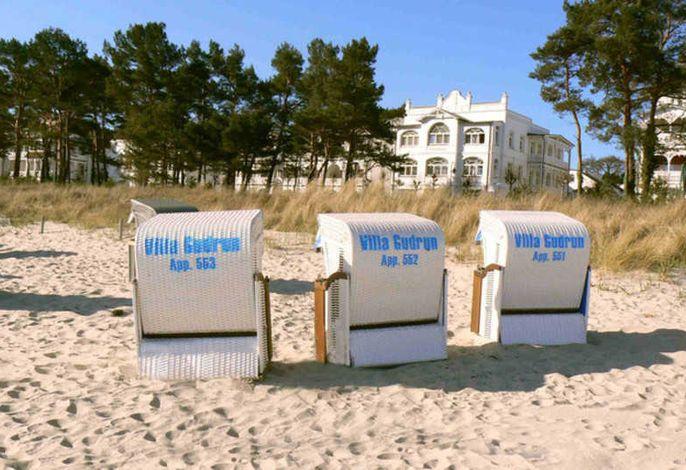 Villa Gudrun Strand-App. 551 Balk. seitl. Meerbl.