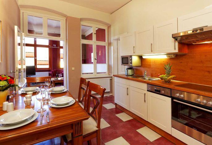 Essbereich und Küchenzeile