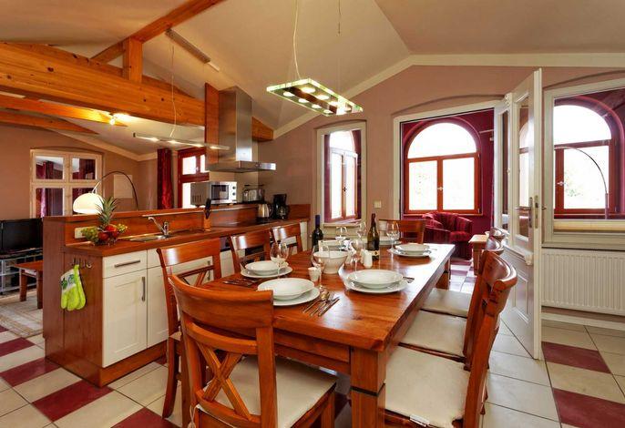 Esstisch & Küchenzeile