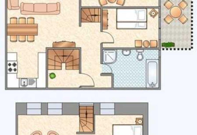 95 m² Ferienwohnung in Polchow