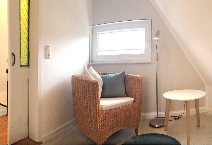 Leseecke im Obergeschoss-Schlafzimmer