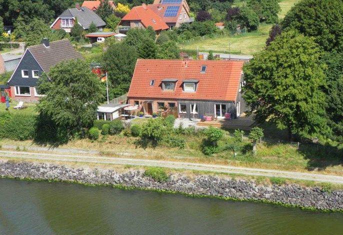 RED Ferienhaus am Nord-Ostsee-Kanal - Sorgenfrei buchen