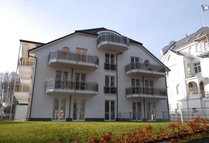 Residenz Falkenberg F 580 WG 04 im EG mit großem Garten
