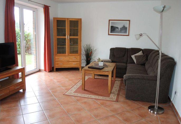 Wohn, Esszimmer mit integrierte Küche