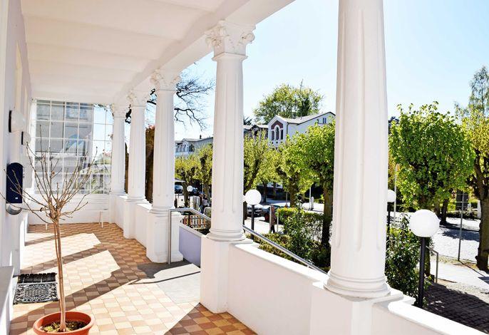 Appartementhaus Sellin in Stil der Bäderarchitektur