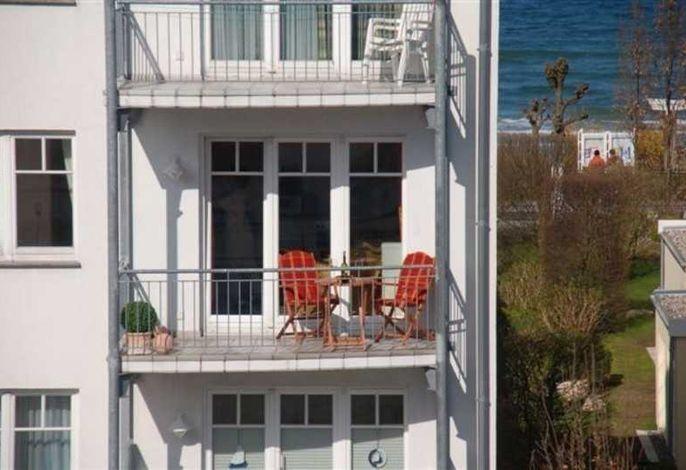 App. Meeresrauscher, strandnah, Gelkamin u. Balkon