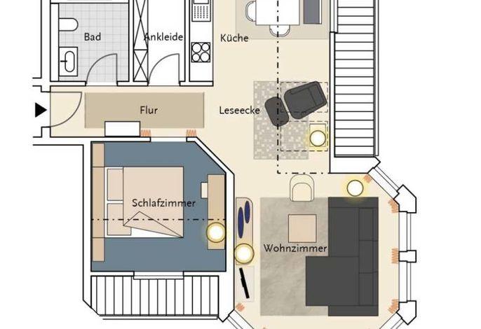 Appartement Turmsuite