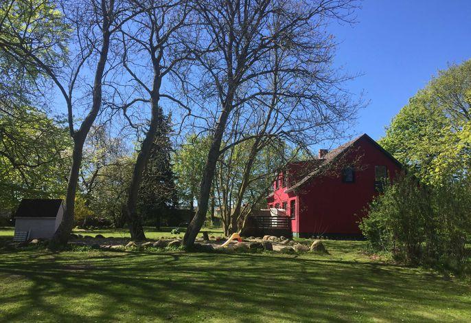 Gutspark Schwarbe mit Reiterhof - Ferienhaus 1