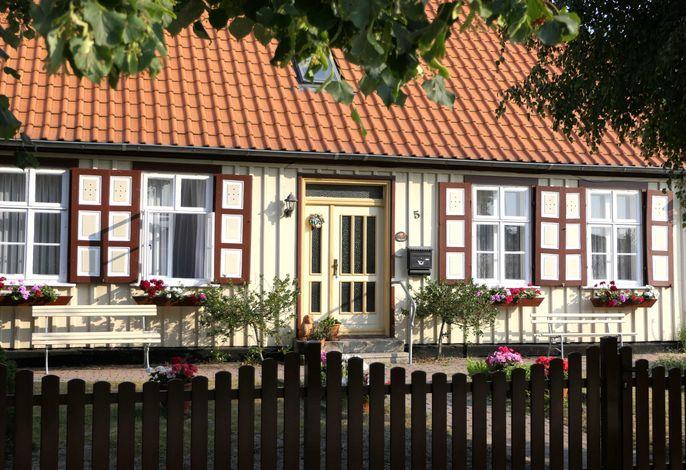 Kapitänshaus in Strandnähe