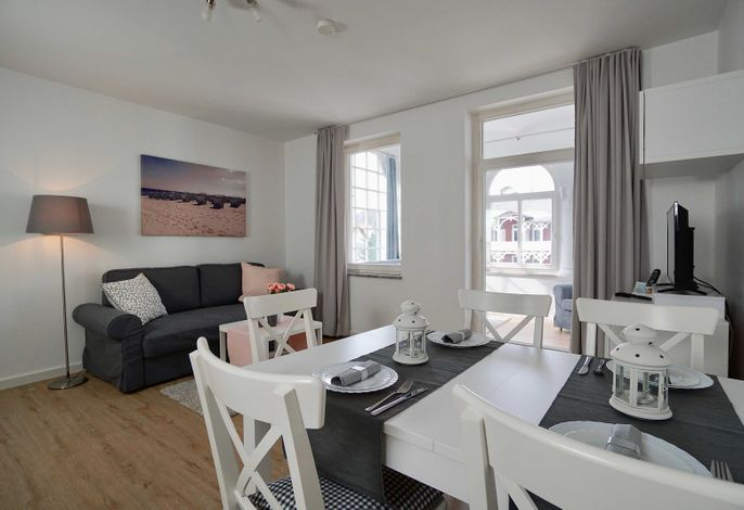 Ferienappartement Jasmund mit Balkon (A)