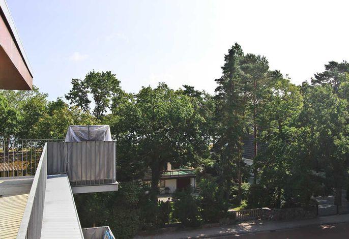 Meerblick von der Dachterrasse