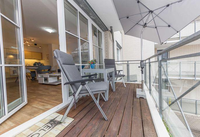 Balkon - begehbar vom Wohnbereich