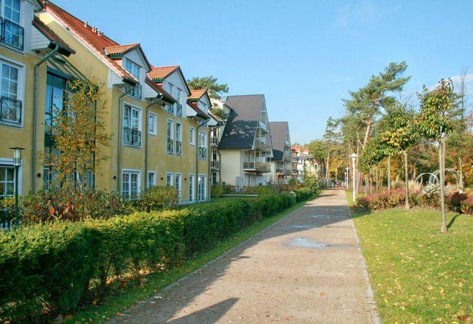 H: Am Kurpark 1/15 mit Balkon/Meerblick