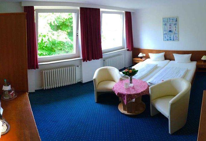 Doppelzimmer zur Landseite