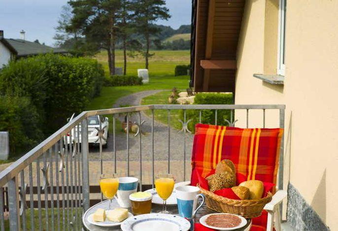 Balkon mit herlicher Ausssicht Wohnung 4