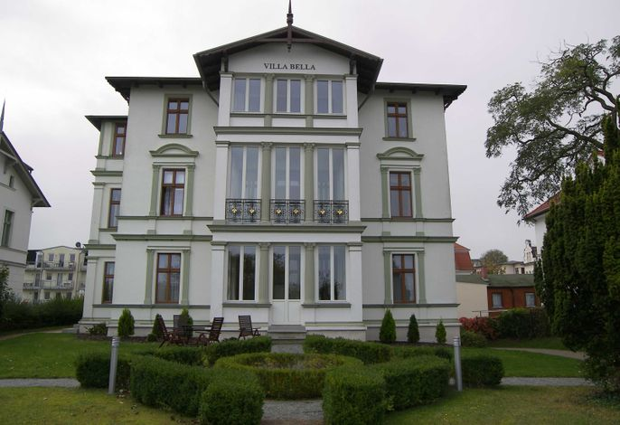 Villa Bella **** FW 2, in 1. Reihe am Ostseestrand