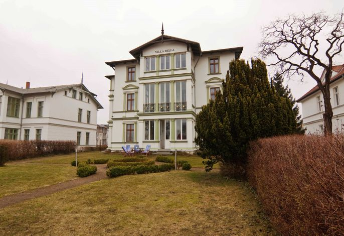 Villa Bella ****FW 2, mit Meerblick direkt am Ostseestrand