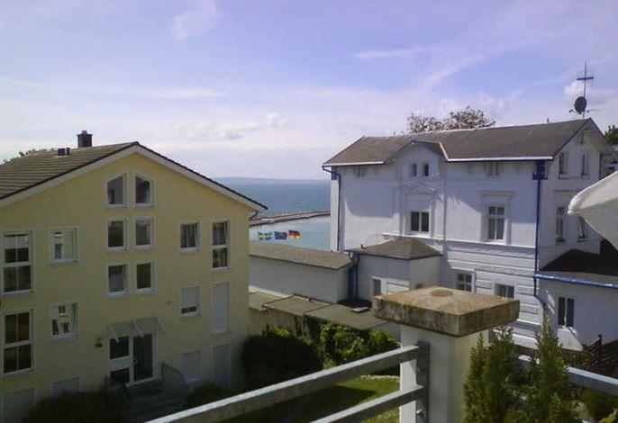Haus Victoria, PH 12, Blk. mit Meerblick u. Strandkorb
