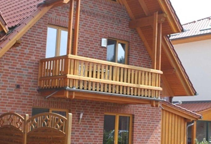 Balkon vor Suiten