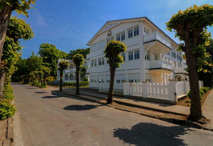 Villa Hansa, App. 4, 2 SZ, 2 Bäder, in Binz,  2 Balkone