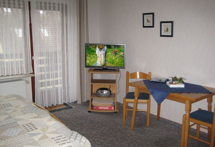 Essplatz und TV