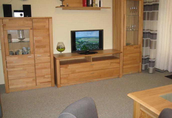Wohnzimmer mit Multimedia