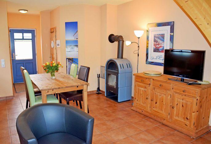 Appartement 5 mit Kamin und Terrasse Nixenhus