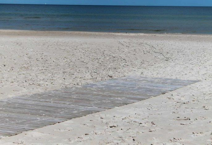 Strandzugang