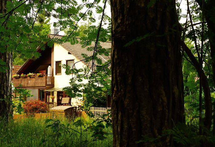 4 Personen Ferienwohnung im Wald mit Kamin, 84m², 3 Zimmer