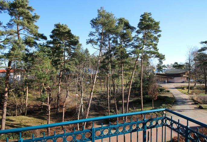 Kurparkresidenz Baabe Whg. 14 - Meerseite mit Blick Kurpark