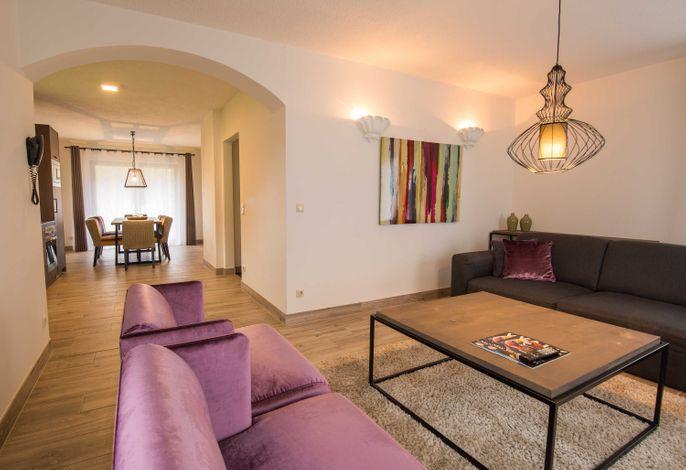 Wohnraum mit Sitzecke