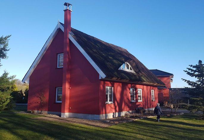 FH mit Reeddach, Sauna, Seeblick, Pool