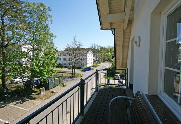 Z: Villa Mara Whg. 09 mit Balkon - ca. 300m Meer/Strand