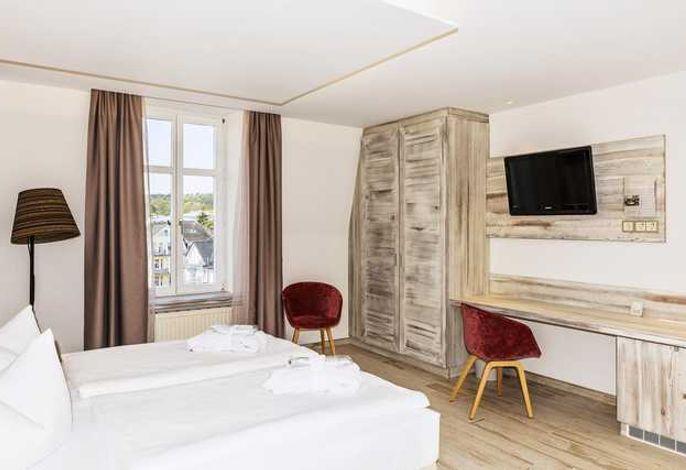 SEETELHOTEL Strandhotel Atlantic - Komfortzimmer Landseite