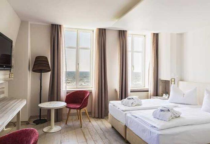 SEETELHOTEL Strandhotel Atlantic - Zimmer  Meerseite