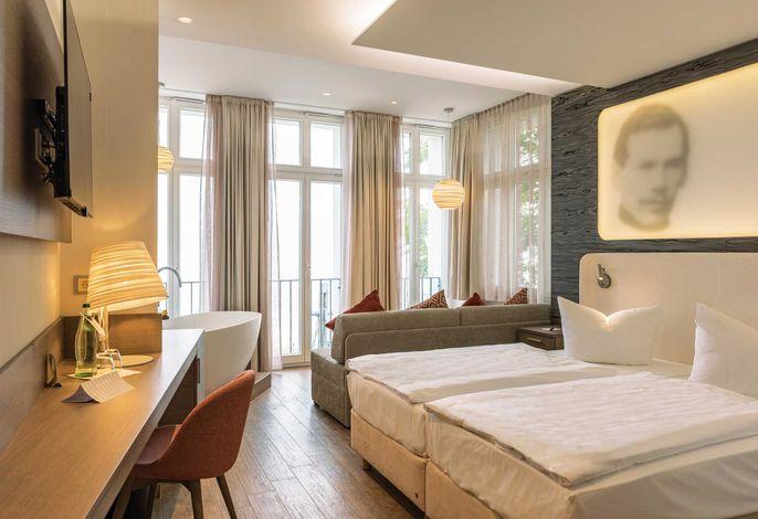 Villa Meeresstrand - Komfort Zimmer Seeseite