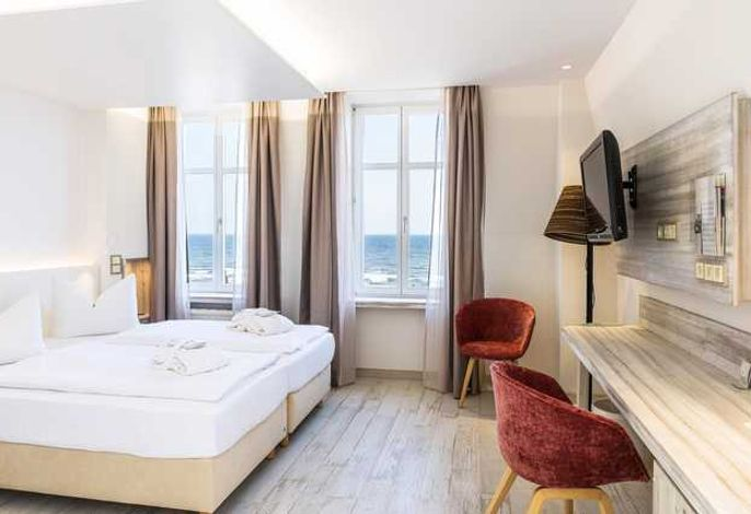 SEETELHOTEL Strandhotel Atlantic - Komfortzimmer  Meerseite