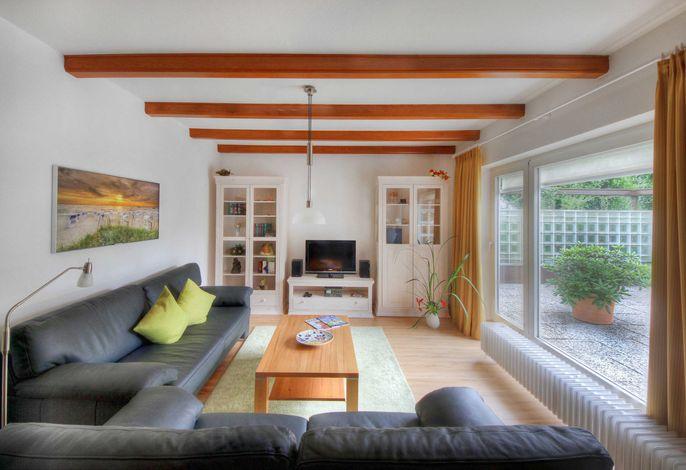Wohnstube mit Terrassenausgang