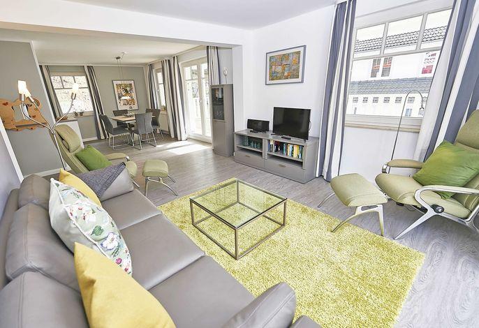 Villa Li im Ostseebad Sellin Penthouse Wohnzimmer