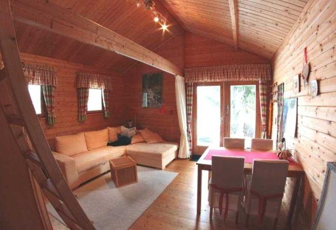 Landhaus Ferienhütte auf  Basedow Höhe