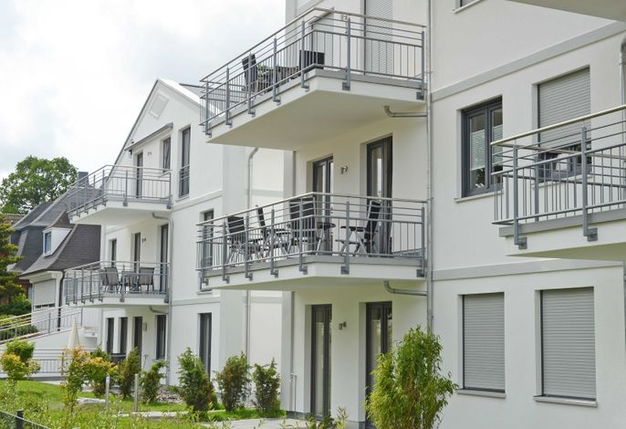 Residenz Margarete -F596 | Penthouse 2.7 mit Kamin+Balkonen