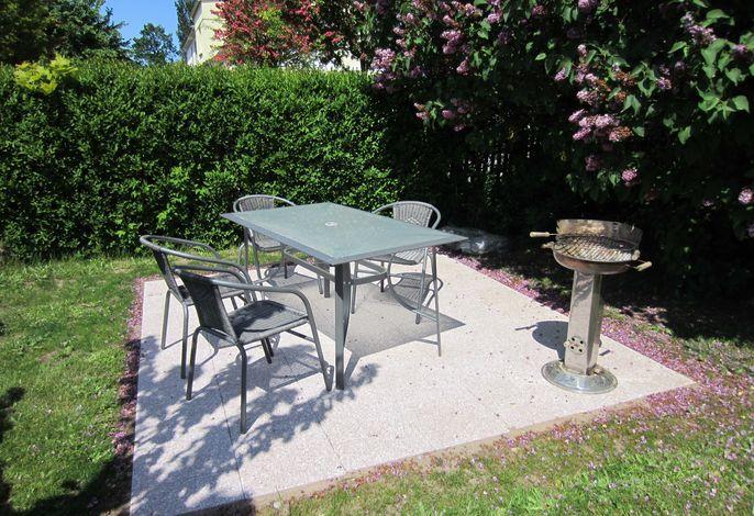 Ferienwohnung Sonnenröschen 1-3 hier ist grillen erlaubt