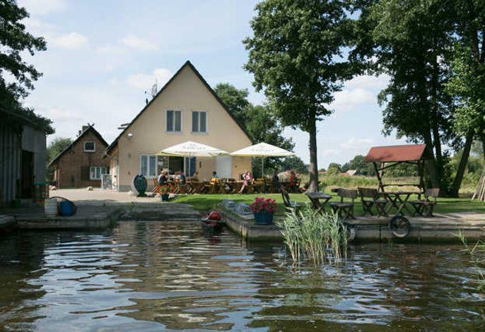 Ferienwohnung am See -  Fischerhof Vipperow