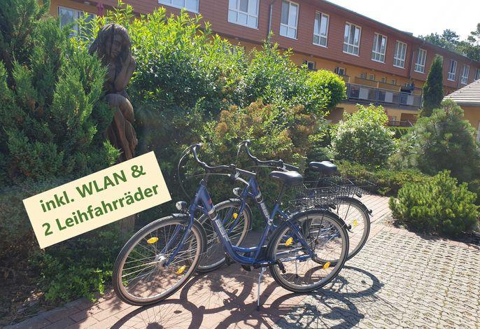 inkl. WLAN & Fahrräder
