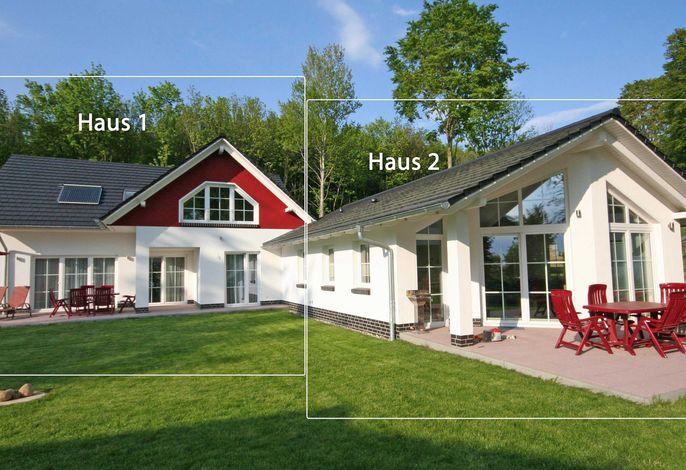 Strandhus Sellin F 535 Haus 1 mit großer Terrasse & Sauna