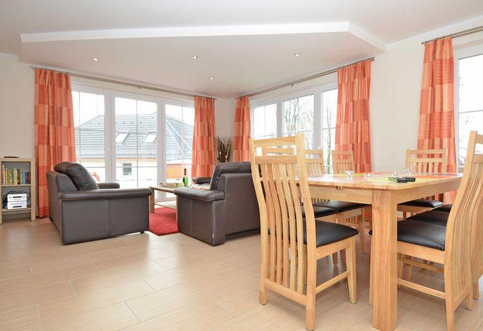 Strandhus Sellin im Ostseebad Sellin Haus 1 Wohnzimmer